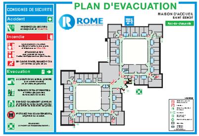exemple de plan d evacuation pdf